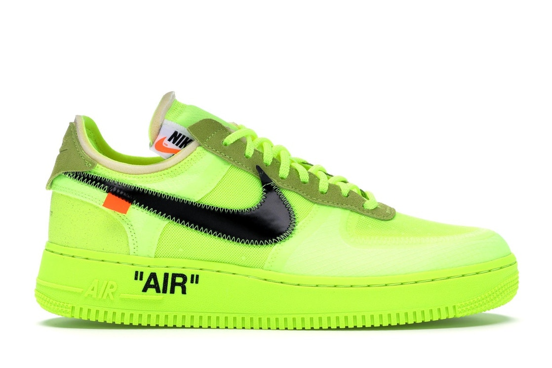 5099854e483a Air Force 1 Low Off-White Volt - AO4606-700