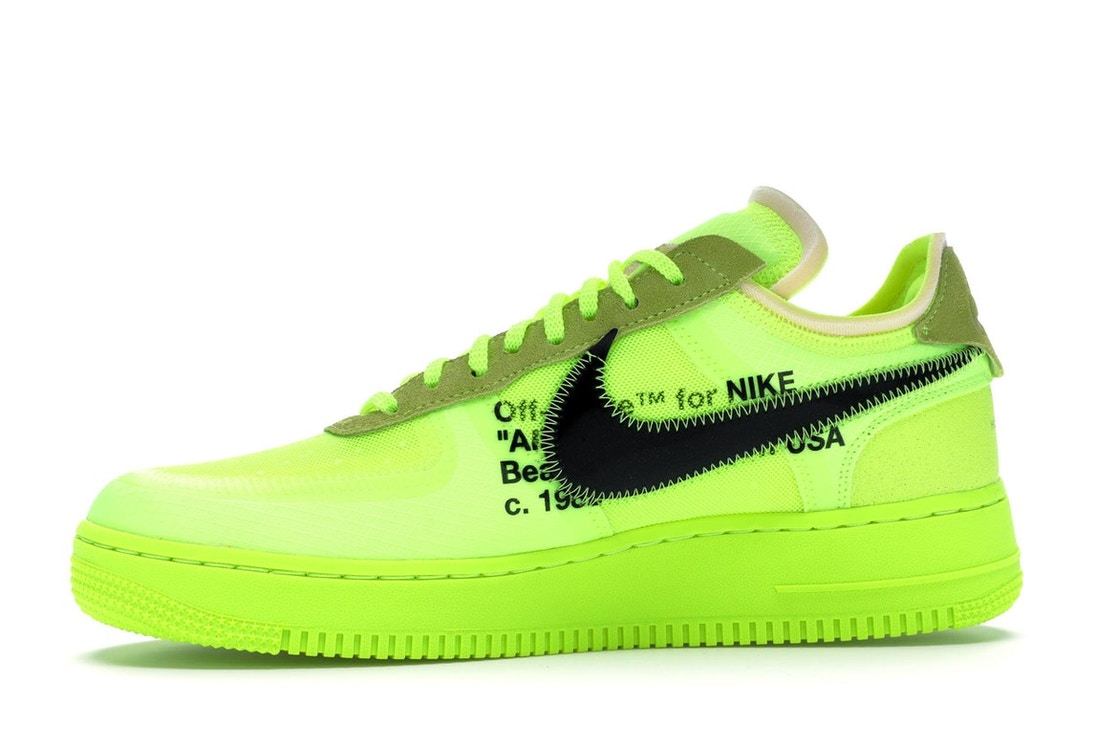 wholesale dealer 00b06 664f9 Air Force 1 Low Off-White Volt - AO4606-700