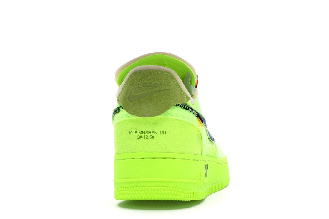 205c0f1bf799 Air Force 1 Low Off-White Volt - AO4606-700