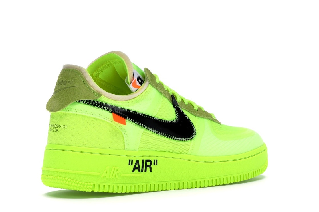 42d2c777 Air Force 1 Low Off-White Volt - AO4606-700