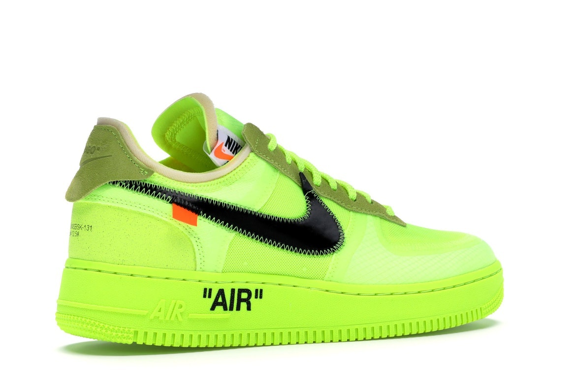 Nike Air Force 1 Low giallo