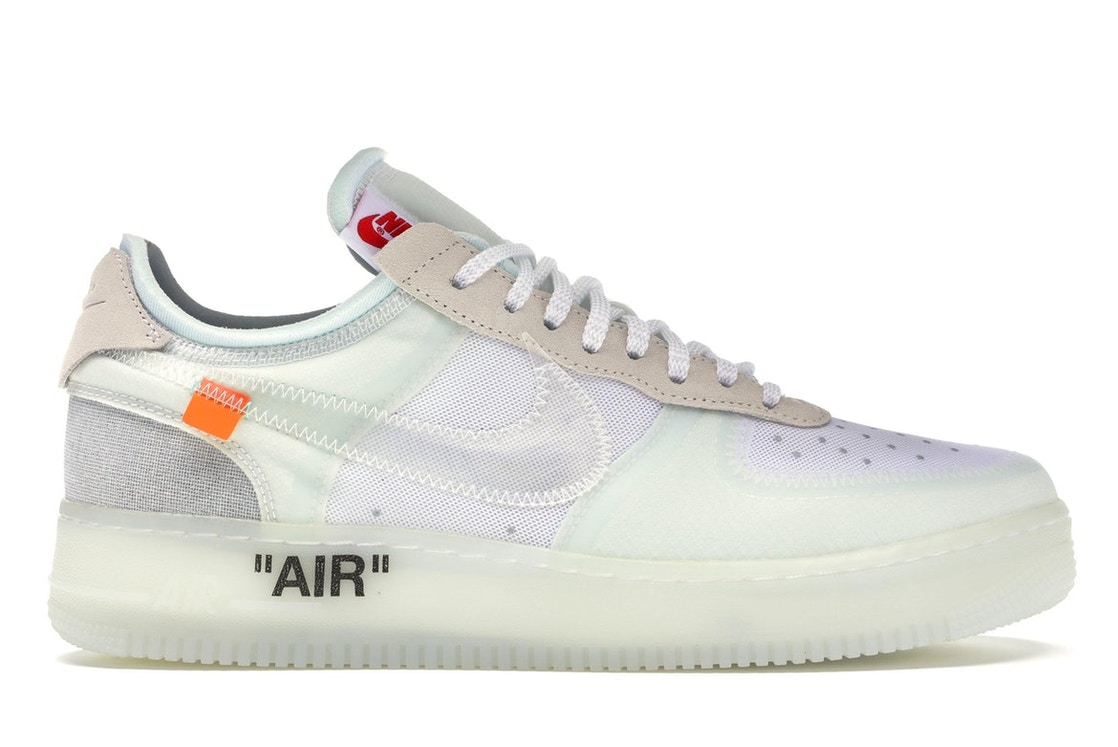uk availability 5956e 9444b Air Force 1 Low Off-White - AO4606-100