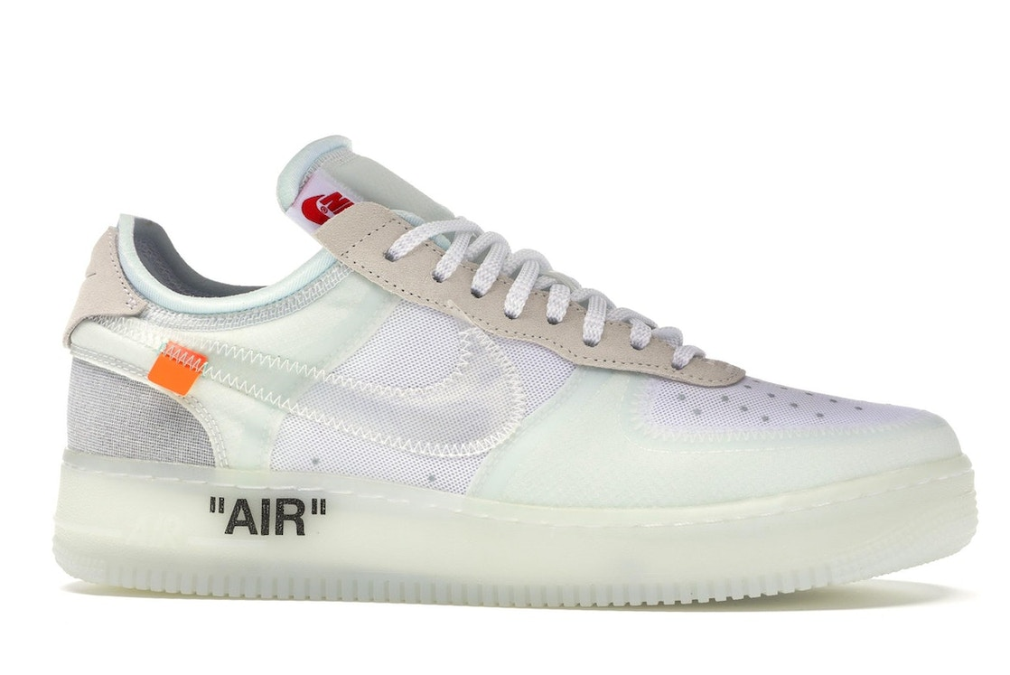 uk availability 1f148 521c4 Air Force 1 Low Off-White - AO4606-100