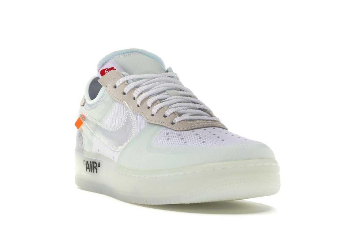 Copuon Off White X Nike Air Force 1 Low Ghosting WhiteSail