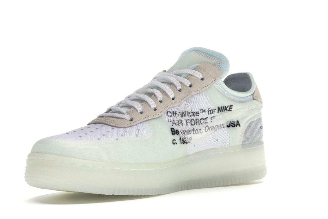 uk availability 4a28b 4e5ce Air Force 1 Low Off-White - AO4606-100