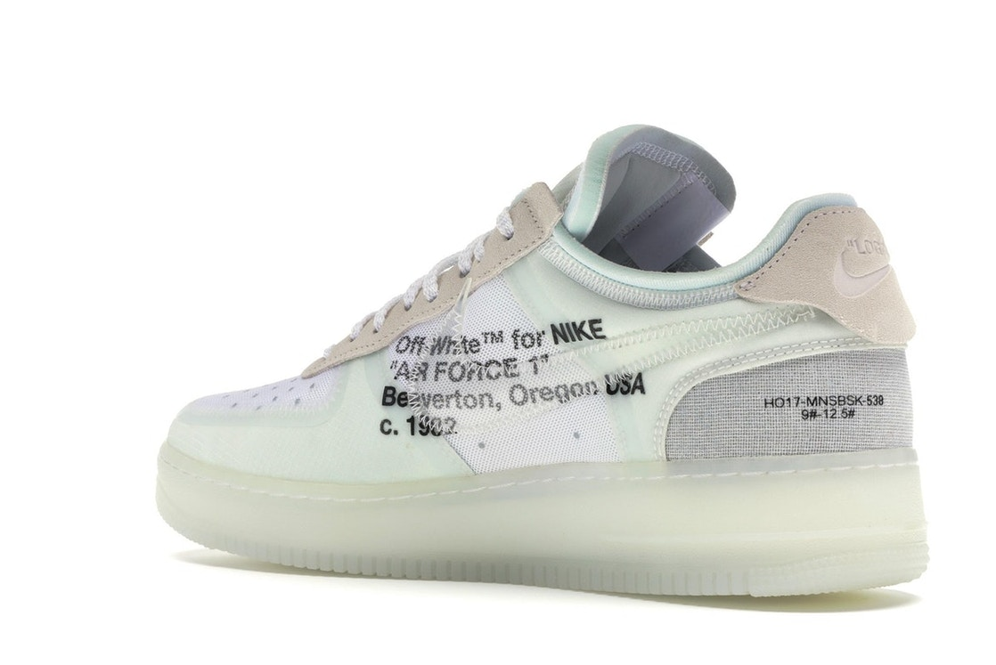 uk availability c0df7 fd5e5 Air Force 1 Low Off-White - AO4606-100