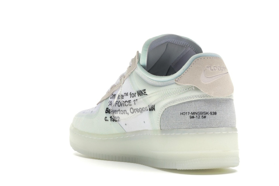582c4efd125 Air Force 1 Low Off-White - AO4606-100