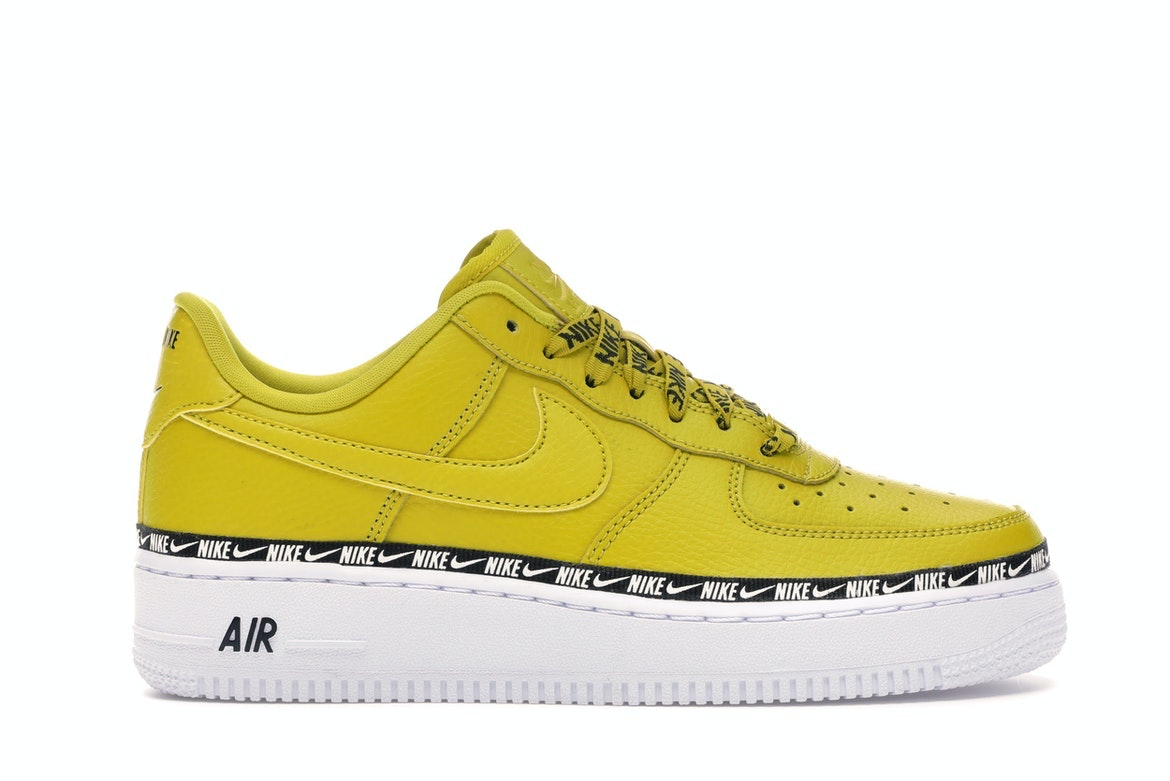 Air Force 1 Low Overbranding Bright Citron (W)
