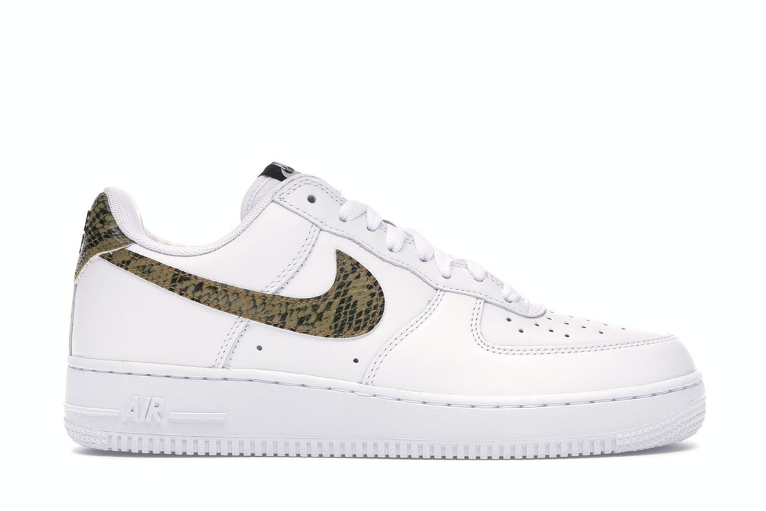 differently watch the best Air Force 1 Low Retro Ivory Snake