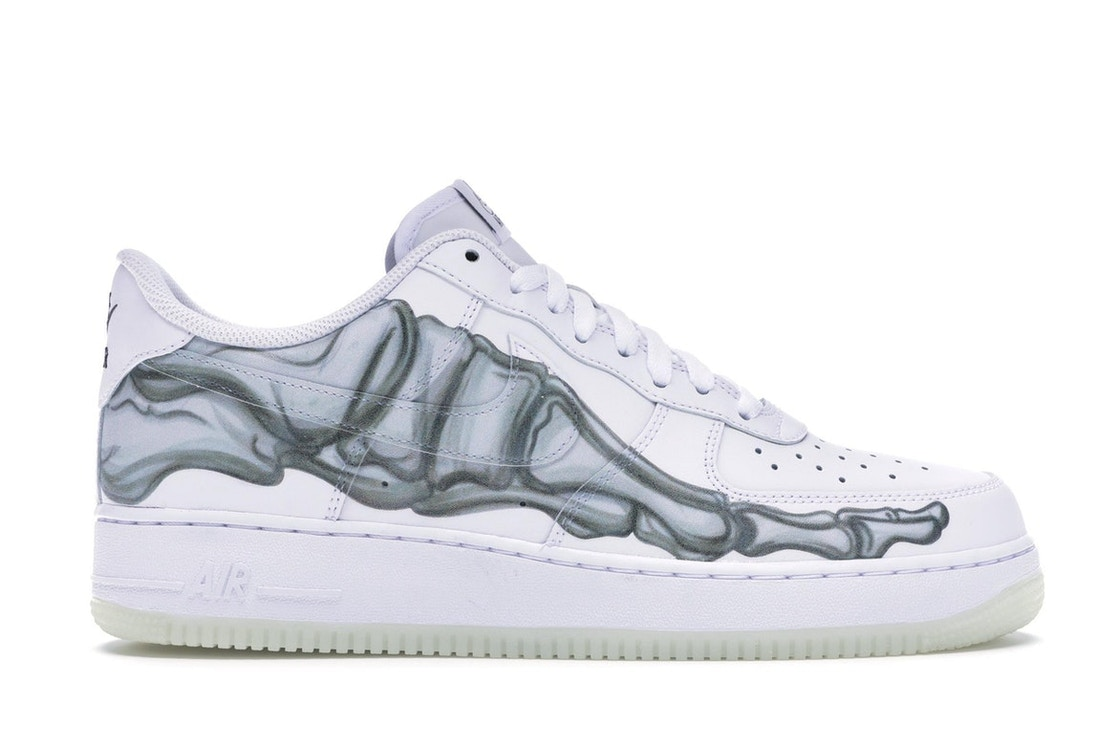 cad33218 Air Force 1 Low Skeleton Halloween (2018) - BQ7541-100
