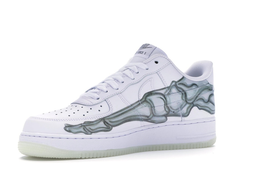 the latest uk cheap sale shades of Air Force 1 Low Skeleton Halloween (2018)