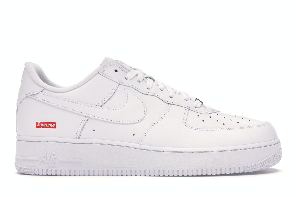 Nike Air Force 1 Low Supreme White - CU9225-100