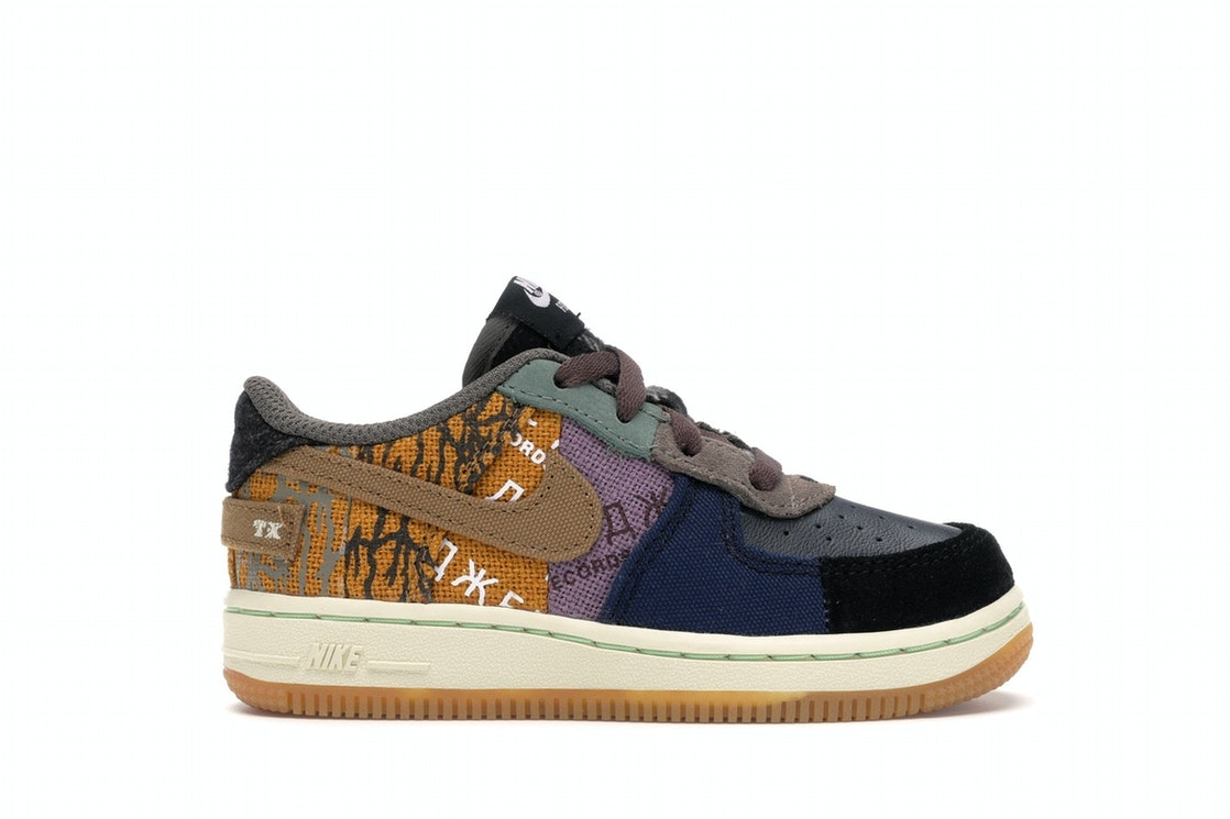 comerciante brazo O  Nike Air Force 1 Low Travis Scott Cactus Jack (TD) - CT0911-900