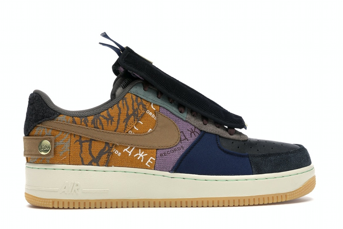 Arne Frágil Embutido  Nike Air Force 1 Low Travis Scott Cactus Jack - CN2405-900