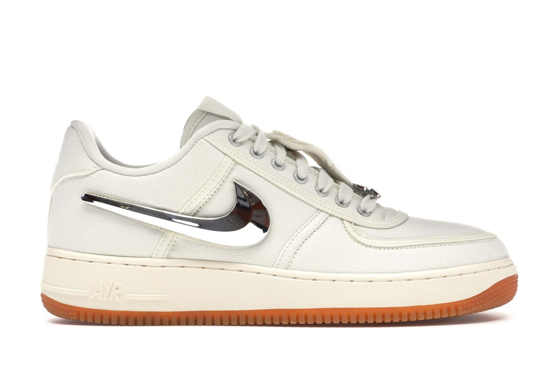 separation shoes a179b a5c9f Air Force 1 Low Travis Scott Sail - AQ4211-101