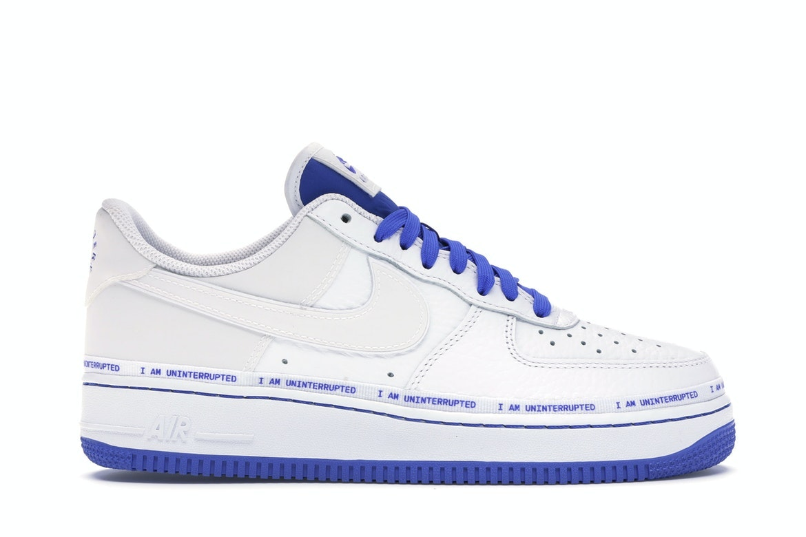 Nike Air Force 1 on UNINTERRUPTED