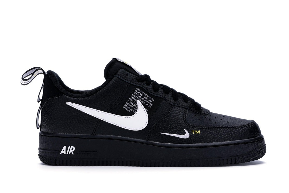 amazon various colors outlet boutique Air Force 1 Low Utility Black White