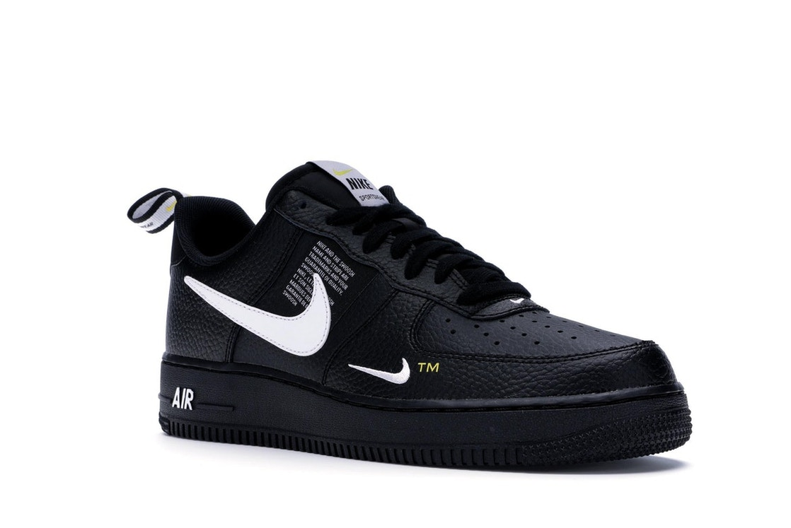 6418846256 Air Force 1 Low Utility Black White - AJ7747-001
