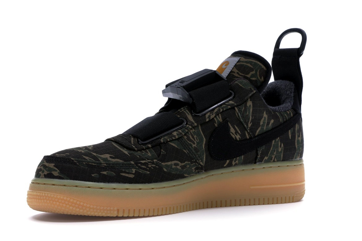 Air Force 1 Utility Low Premium x Carhartt WIP Camo Size 9.5 AV4112 300