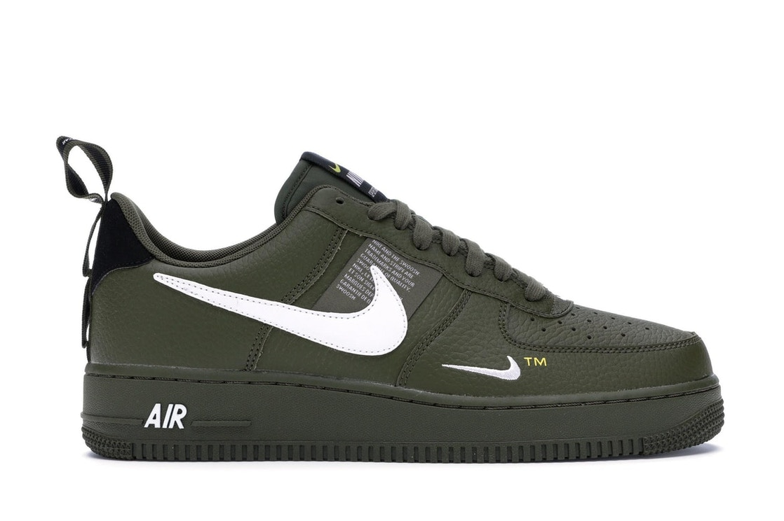 uk availability cc9ed 85a1d Air Force 1 Low Utility Olive Canvas - AJ7747-300