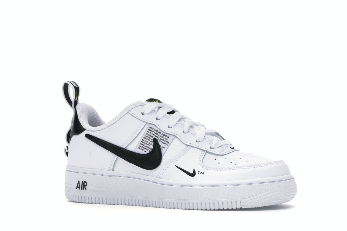 Nike Air Force 1 Low Utility White Black For Sale