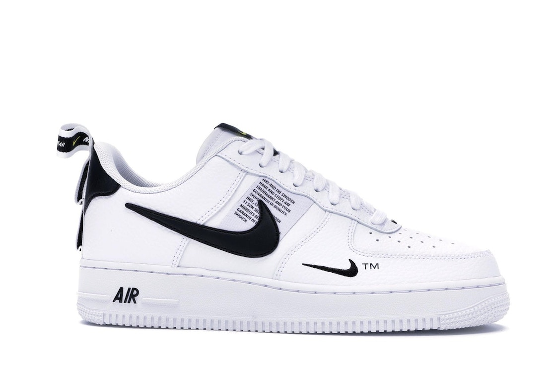Templado Exponer combinar  Nike Air Force 1 Low Utility White Black - AJ7747-100