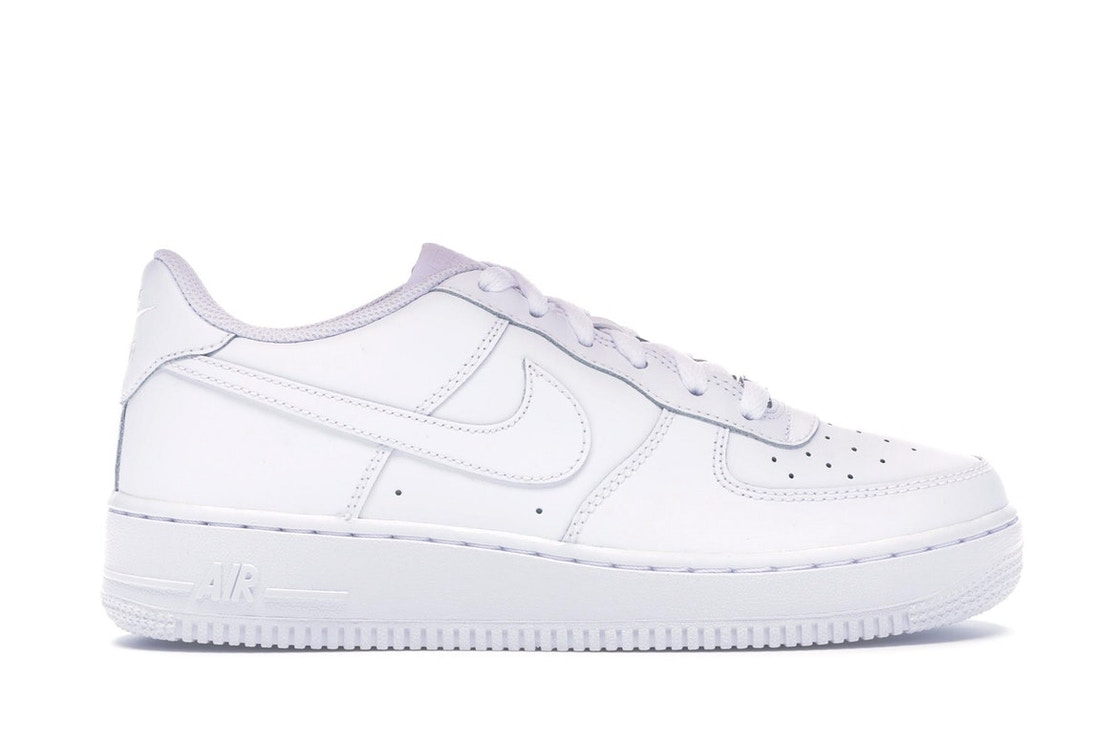 posterior A tiempo Generalizar  Nike Air Force 1 Low White 2014 (GS) - 314192-117