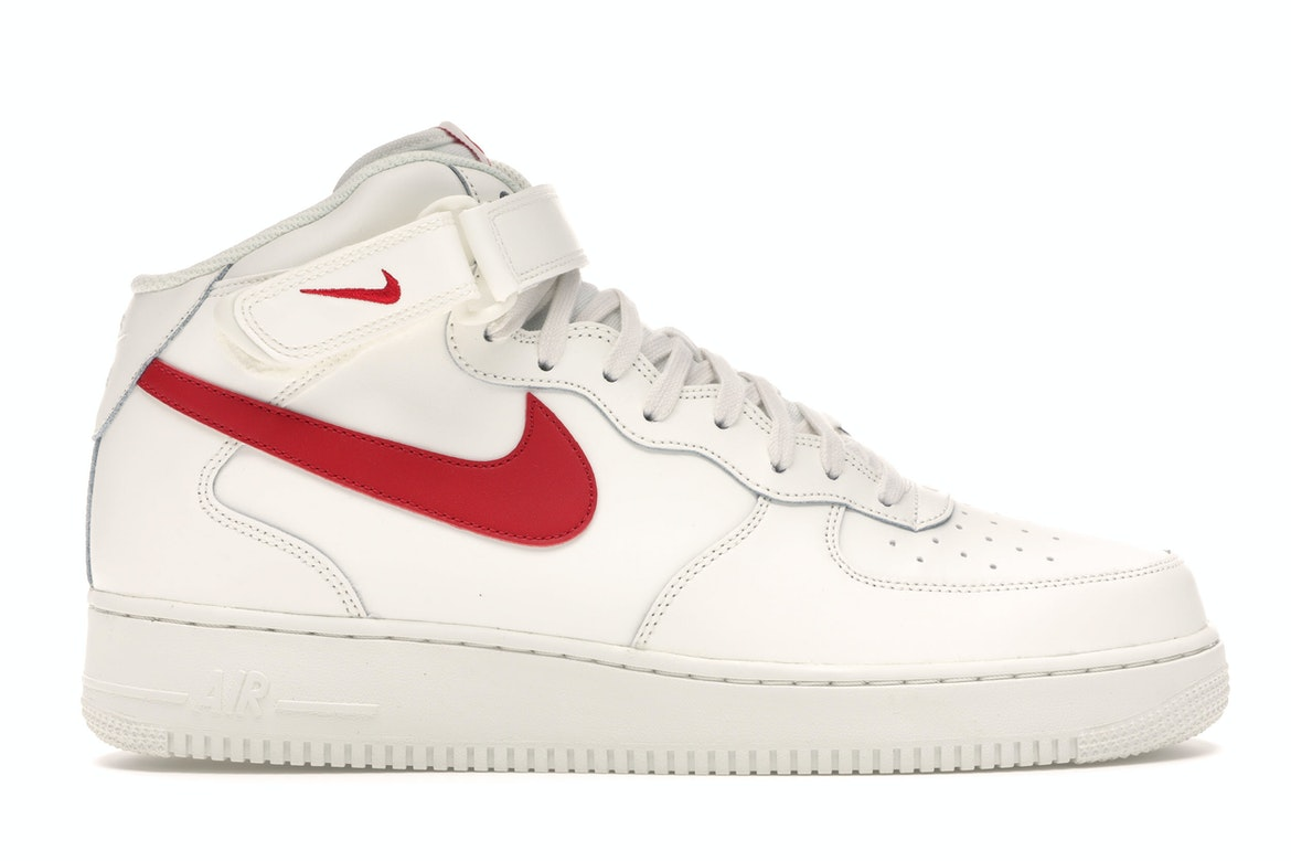 Air Force 1 Mid Sail University Red 315123 126
