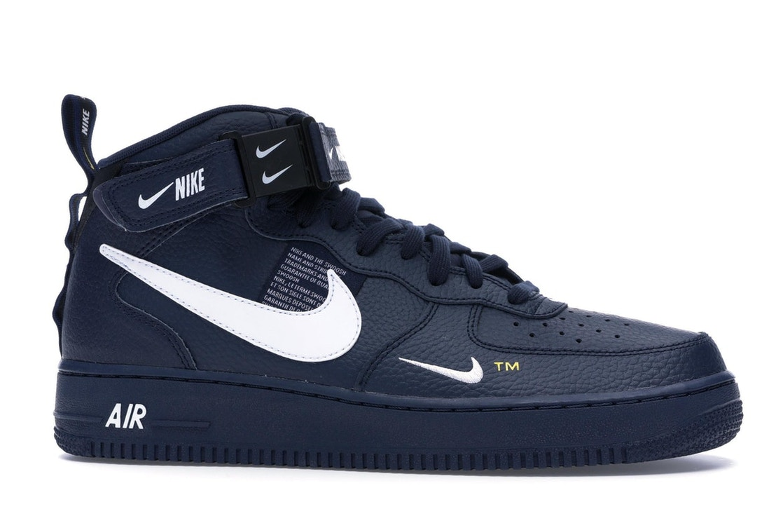 purchase cheap 43079 4a103 Air Force 1 Mid Utility Obsidian