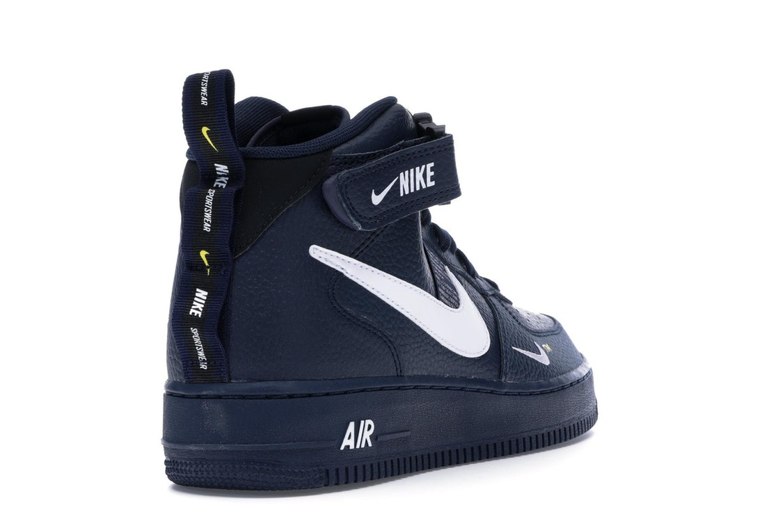 buy online 19901 148e8 Air Force 1 Mid Utility Obsidian - 804609-403