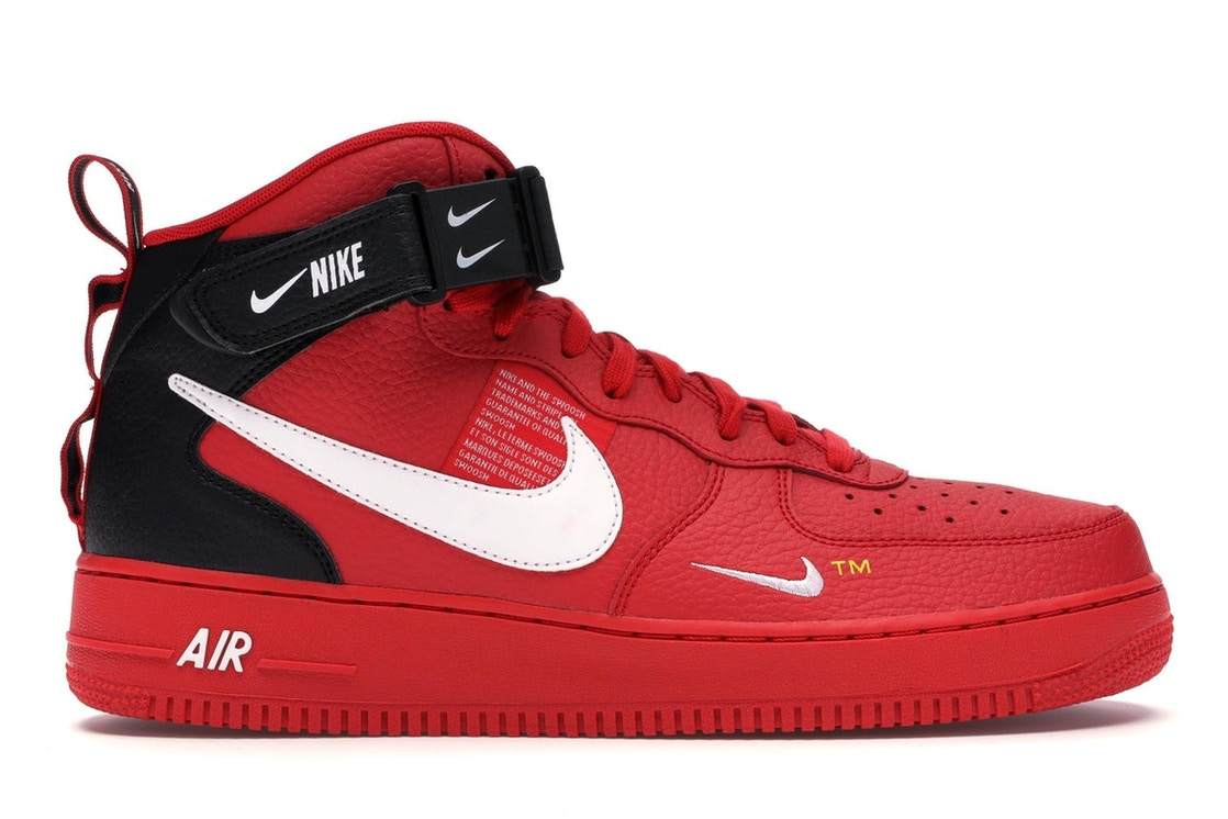 83e2a6ad Sell. or Ask. Size 9. View All Bids. Air Force 1 Mid Utility University Red