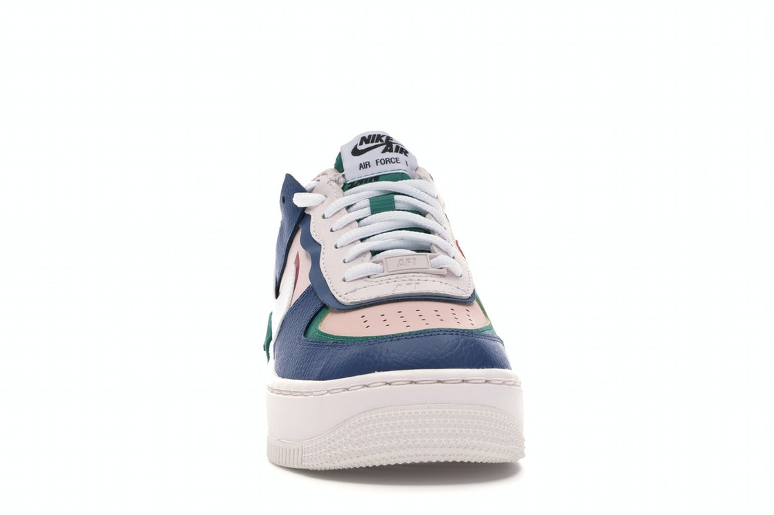 Nike Air Force 1 Shadow Mystic Navy W Ci0919 400 The nike af1 shadow brings a playful look to the street, with double branding, an exaggerated midsole and grooved rubber outsole. nike air force 1 shadow mystic navy w