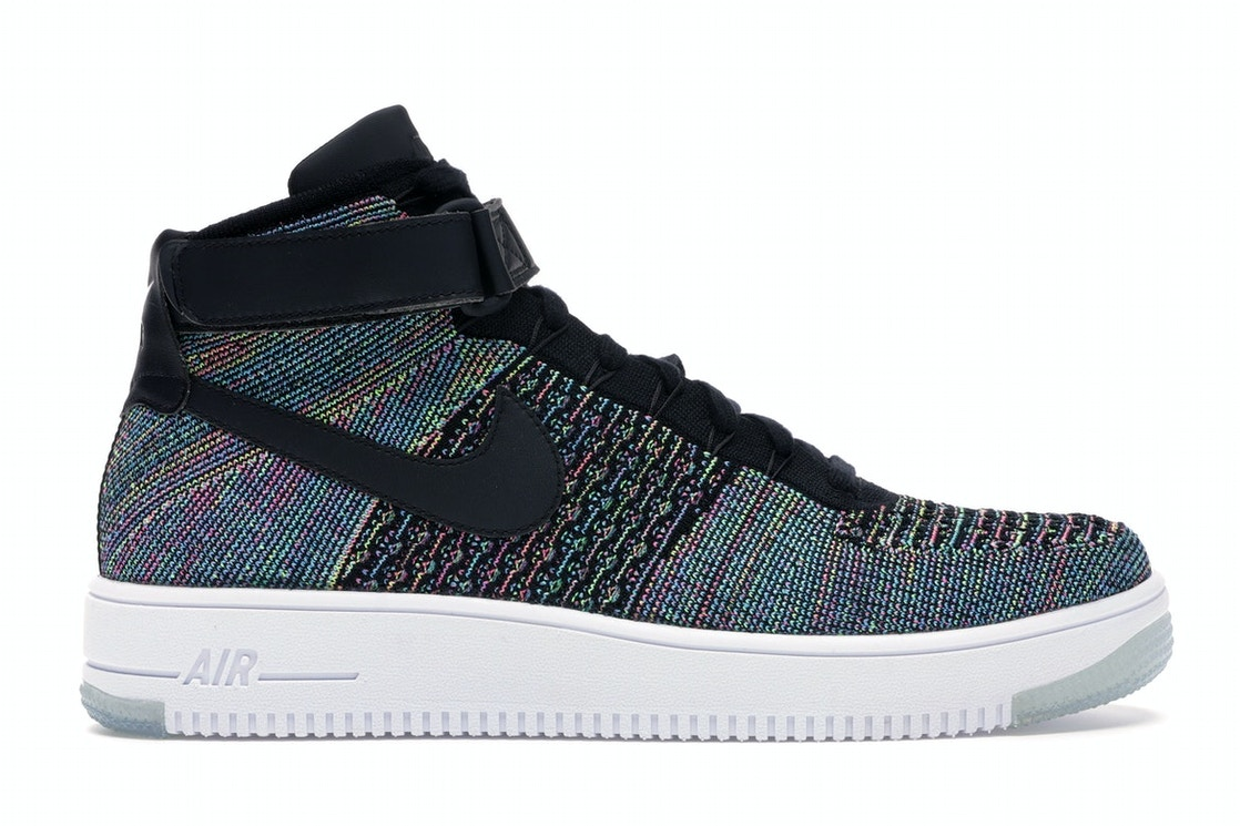 new arrival a36b7 d1b90 Air Force 1 Ultra Flyknit Mid Multi-Color 2.0