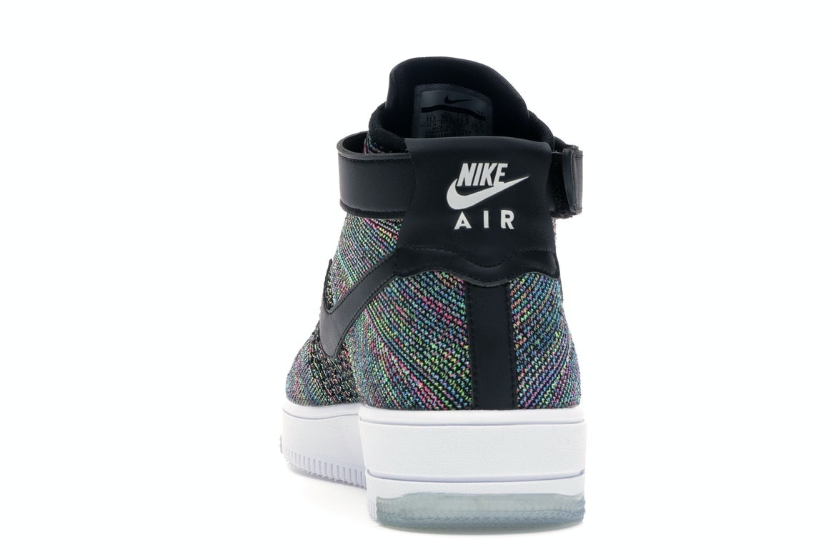 Nike Air Force 1 Ultra Flyknit Mid Mens Size 11.5 Multi Color Af1 817420 601