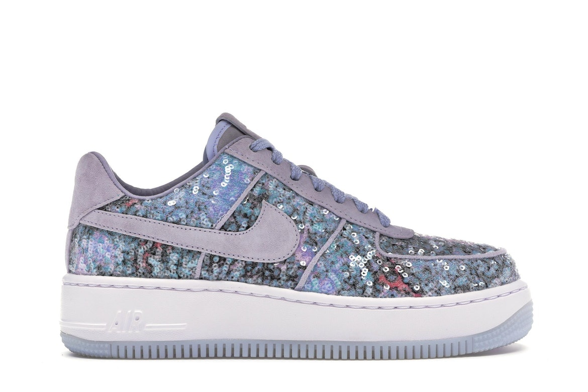 The Nike Air Force 1 Upstep Low Glass Slipper is Fit for a