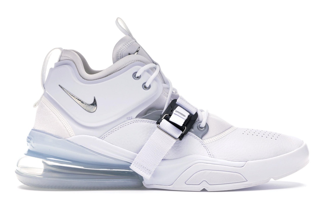 58035ab5a24 Sell. or Ask. Size  9.5. View All Bids. Air Force 270 White Metallic Silver