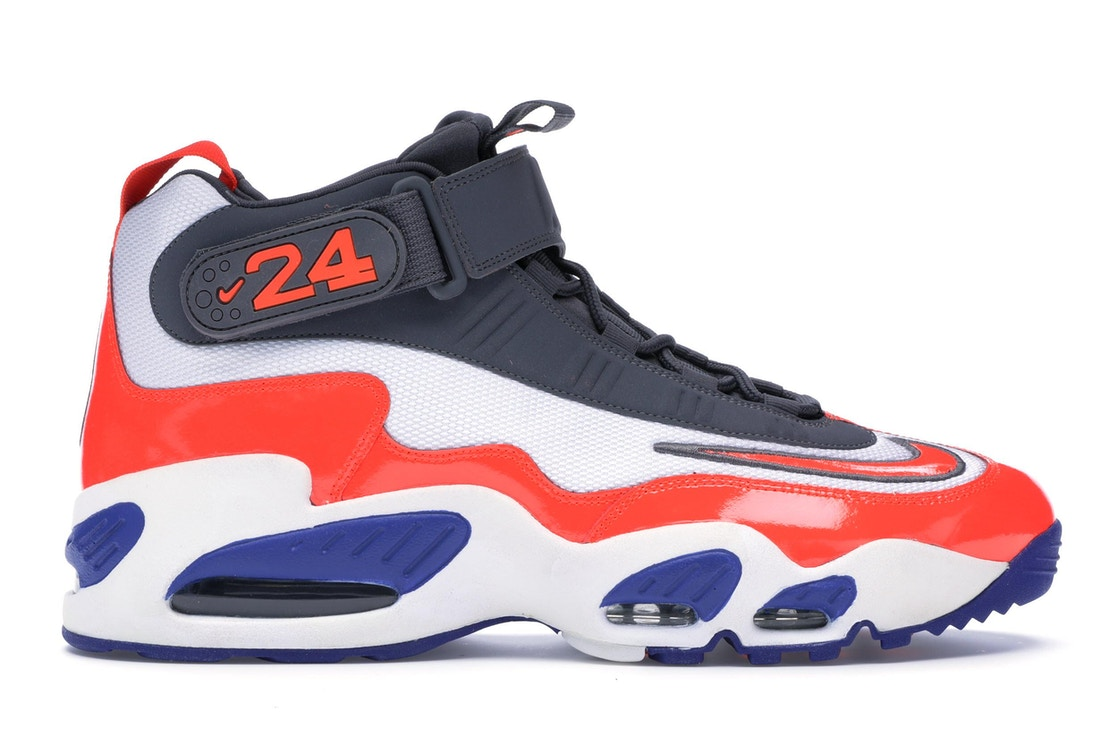 buy online f92e3 7c1af Air Griffey Max 1 Total Crimson Hyper Blue - 354912-103