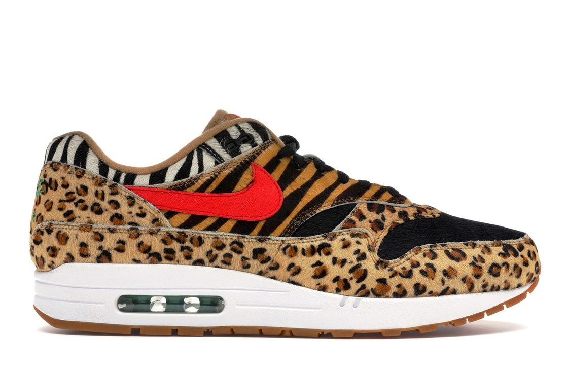 watch e8fd7 71e63 Air Max 1 Atmos Animal Pack 2.0 (2018 All Black Box)