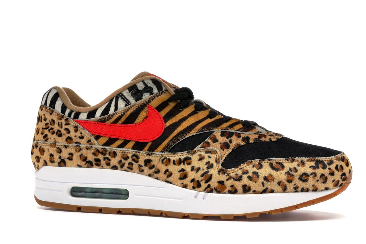 Air Max 1 Atmos Animal Pack 2.0 (2018 All Black Box)