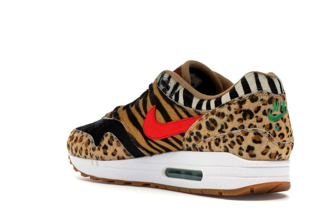 finest selection 73f90 fc70f Air Max 1 Atmos Animal Pack 2.0 (2018 All Black Box) - AQ0928-700