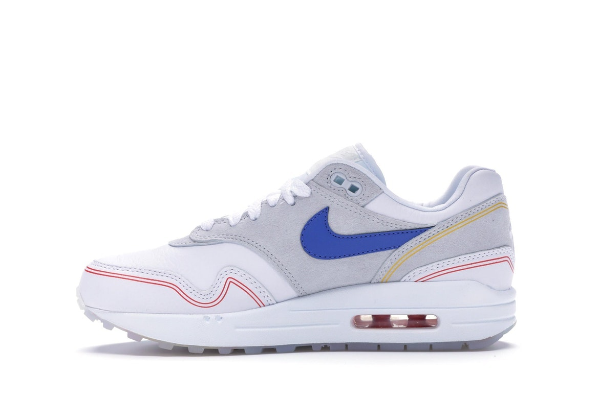 Various colors Nike Air Max 1 Centre Pompidou By DayBy Night