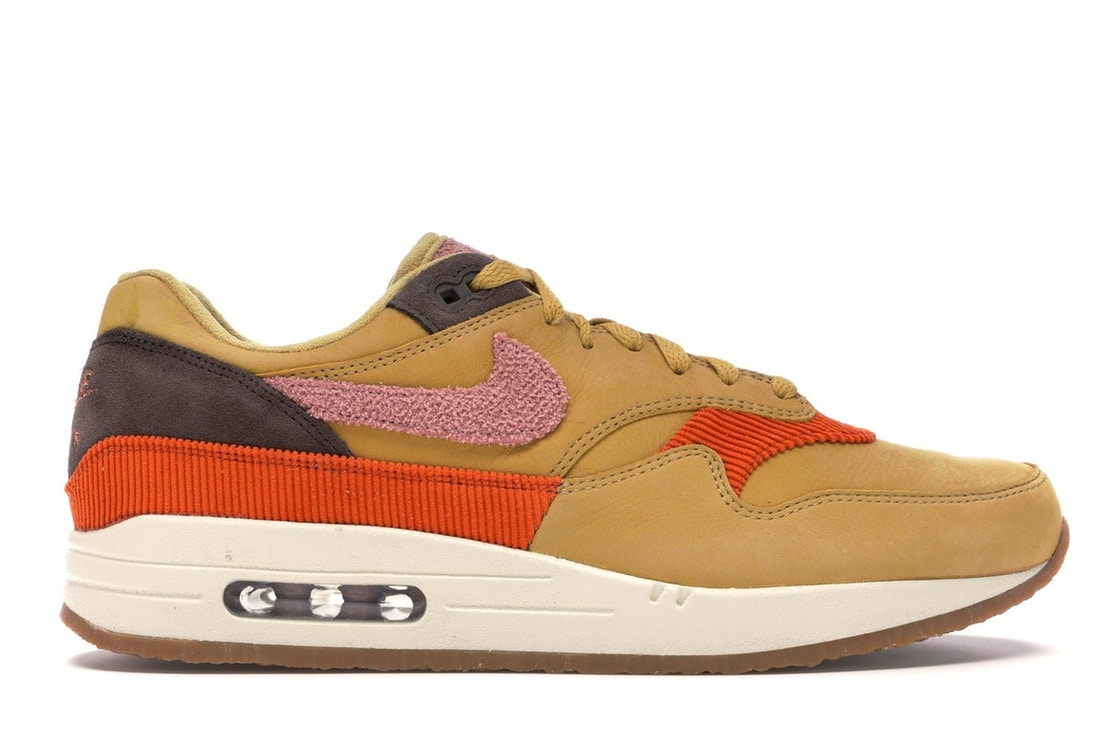 new styles 7eda9 7fcc1 Air Max 1 Crepe Wheat Gold Rust Pink - CD7861-700