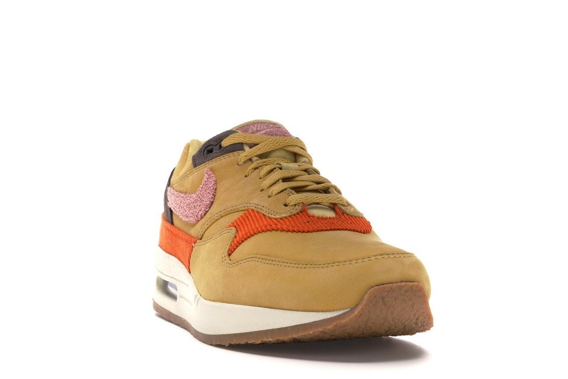 new styles 79019 4c440 Air Max 1 Crepe Wheat Gold Rust Pink - CD7861-700