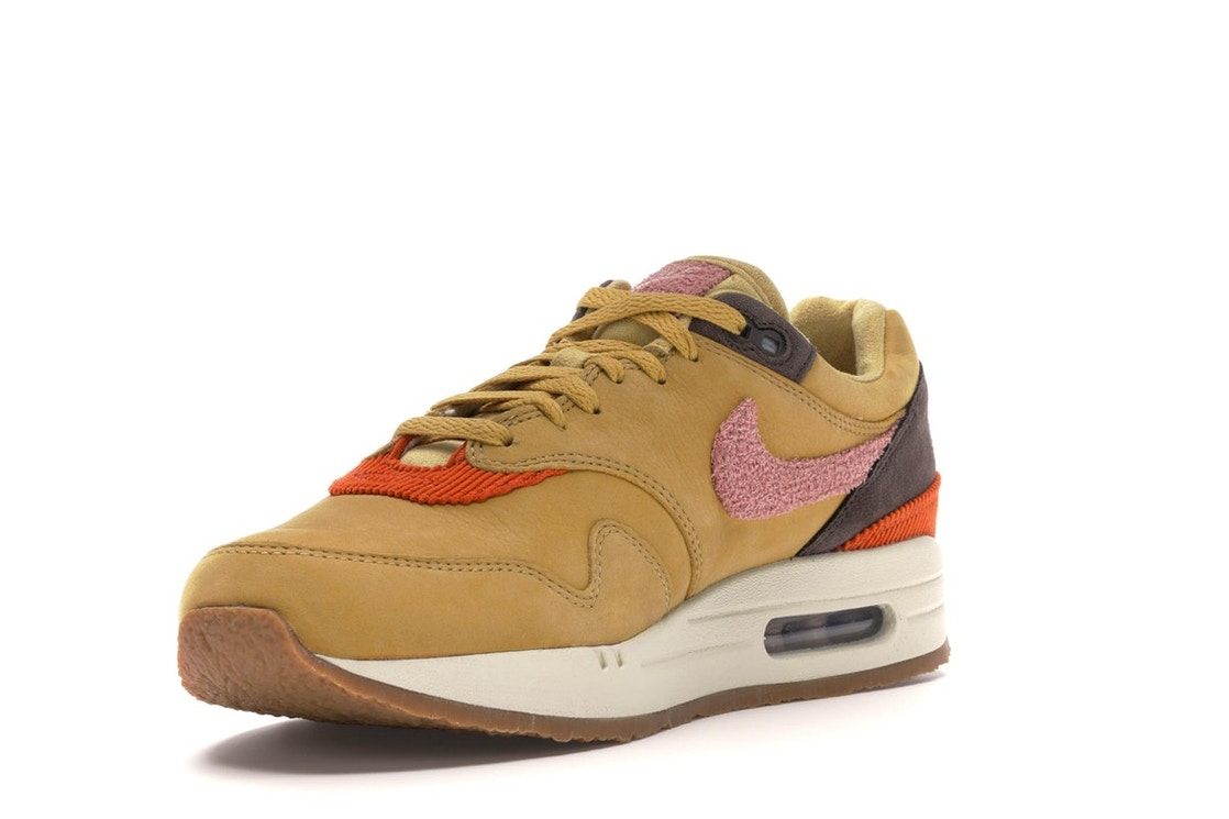 new styles 8f312 44234 Air Max 1 Crepe Wheat Gold Rust Pink - CD7861-700