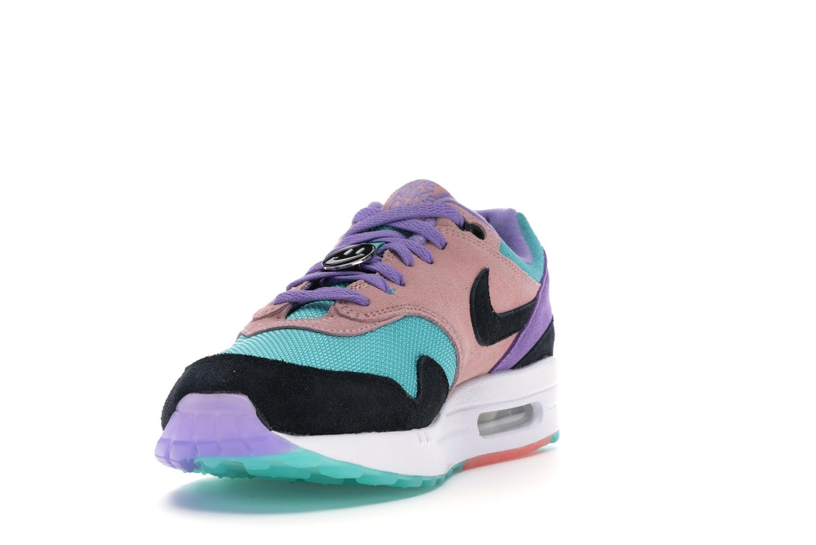 Nike Air Max 1 Have A Nike Day Purple Coral (GS Sz 3.5