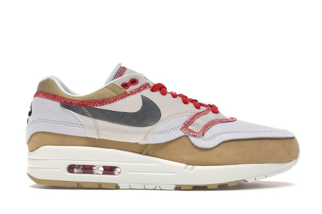 preocupación Anguila Soltero  Nike Air Max 1 Inside Out Club Gold Black - 858876-713