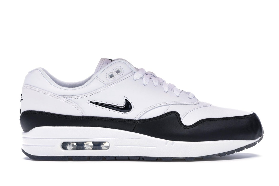 10c283d0be61f Air Max 1 Jewel White Black (2017) - 918354-100