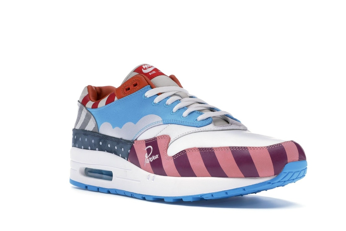 info for ef3f6 3617c Air Max 1 Parra 2018 (Friends & Family)