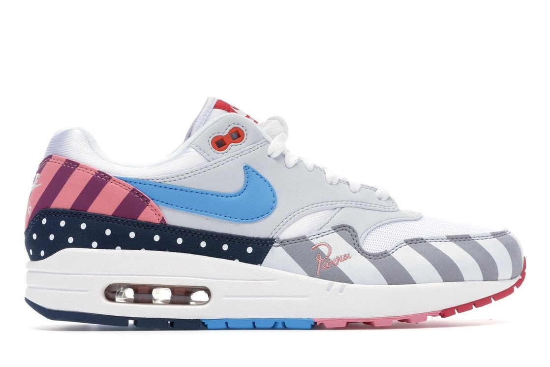 5d6ff80082 Air Max 1 Parra (2018) - AT3057-100