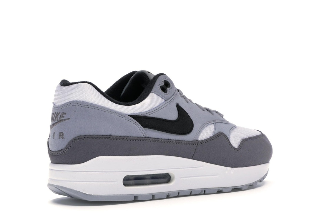 newest d5224 2978e Air Max 1 White Black Wolf Grey - AH8145-101